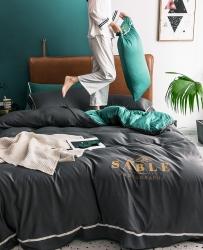 慕梵2019春夏新品天丝绸四件套床上用品臻丝绸套件