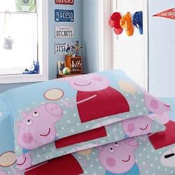 简家居 植物羊绒加厚枕套一对装枕头套单人枕芯套 第二批
