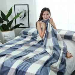 云貂绒毛毯 空调盖毯休闲毯车用旅行法莱绒毛毯 枕套 床单夏被