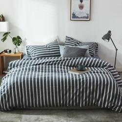 (总)北欧良品 水洗棉四件套全棉色织无印良品专柜同步更新