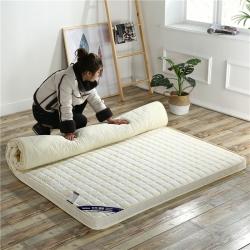 (总)喜她 6.5--10厘米加厚 新款针织宜家风立体床垫