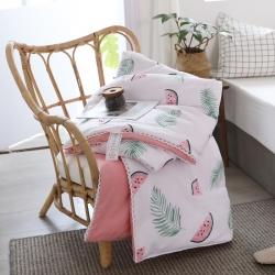 奥汀洛2019小清新水洗棉夏被小花边空调被夏凉被