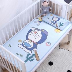 御棉坊 卡通大版儿童凉席两件套婴儿冰丝凉席幼儿园席子 小叮当