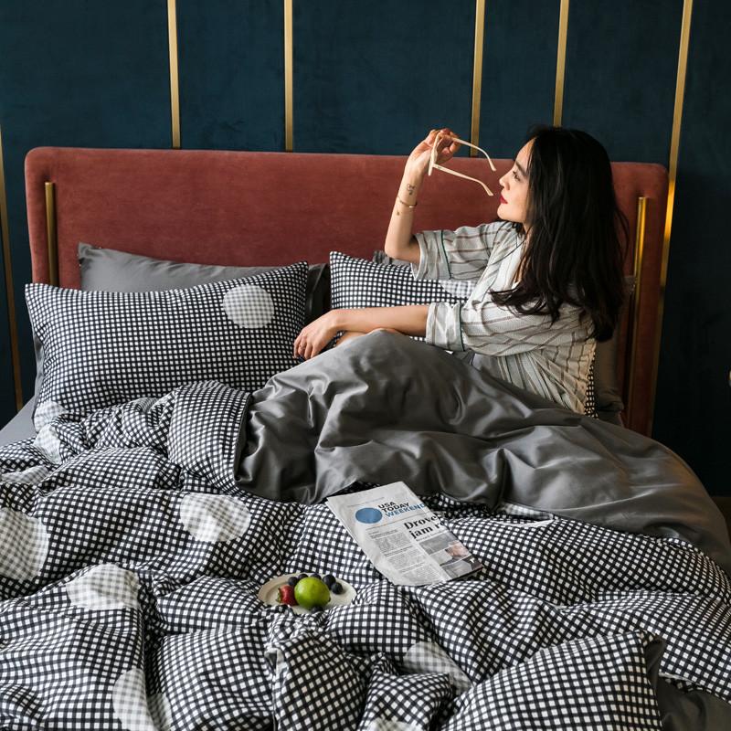 雅居纺 全棉60长绒棉四件套拍摄风格1 时迁