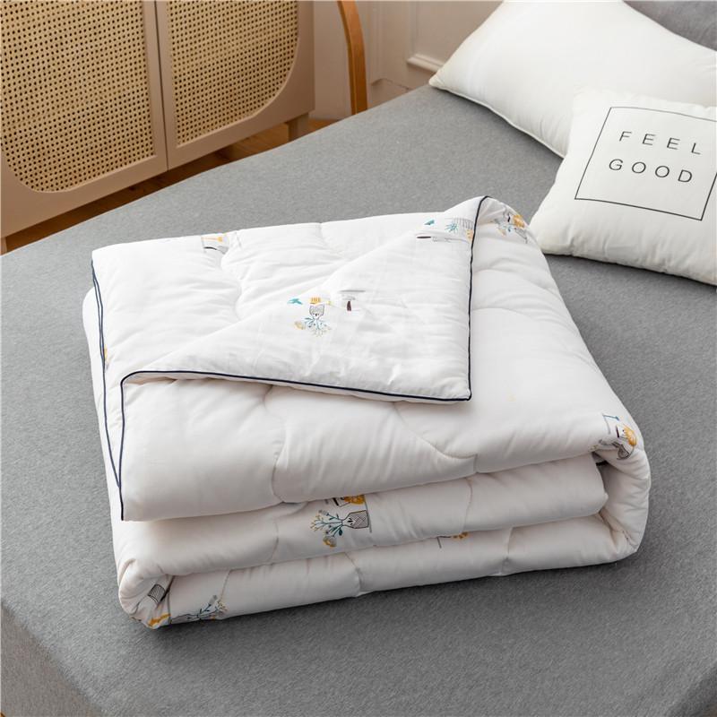2020秋冬新款13372全棉新疆棉花被纯棉冬被里外纯棉被芯