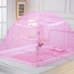 艾晶美 婴儿蚊帐粉红色