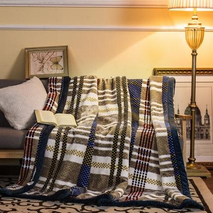 凯轩家纺 柔软舒适西班牙盖毯毛毯法兰西