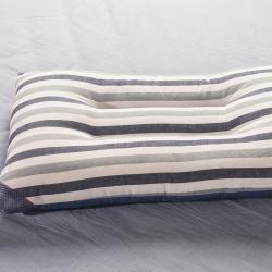 初舍家纺 水洗枕芯 蓝条
