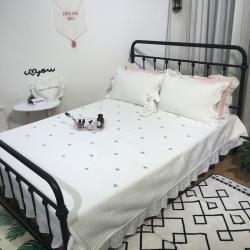 漫调家纺 韩国床盖三件套仙人掌