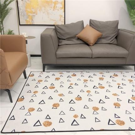 卜古家纺 地毯地垫 三角塔