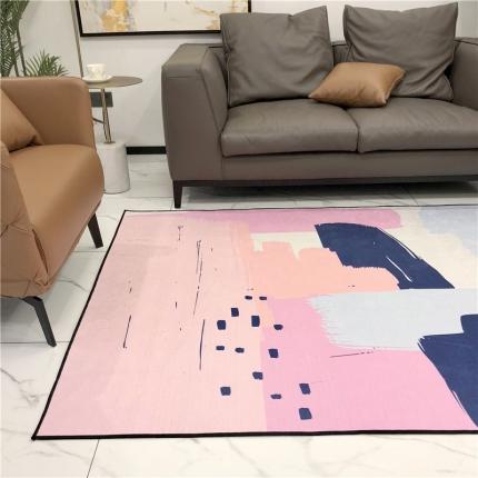 卜古家纺 地毯地垫 涂鸦