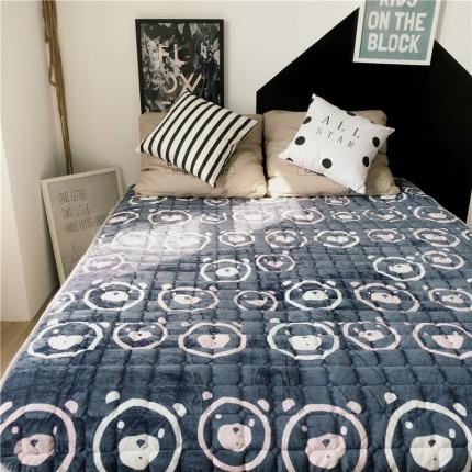 卜古家纺 2018新品床垫保护垫 小熊宝宝