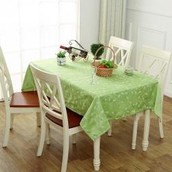 宏雅印象 田园风绣花餐桌布-3色 爱在深秋-绿