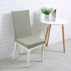 宏雅印象 针织细条纹椅套-16色 雅典绿