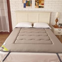 布卢姆床垫 针织透气竹炭床垫灰色