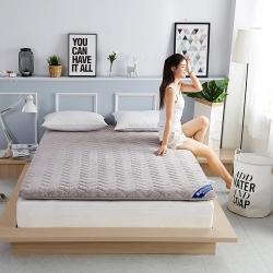 布卢姆床垫 微芙绒棕垫灰色