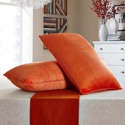 兴煌枕业 水晶绒 舒适枕青春版橙色