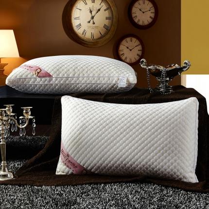 兴煌枕业 针织棉按摩护颈枕芯 水立方奢华款