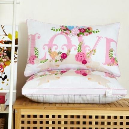 (总)兴煌枕业 定版花型立体羽丝绒枕