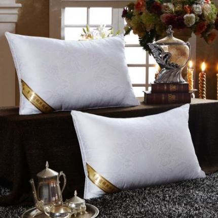 (总)兴煌枕业 枕芯 贡缎提花立体系列