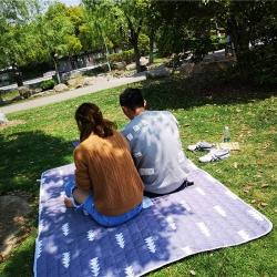 澳泽家纺 2018新款野餐垫地垫爬爬垫防水垫室外图 木木