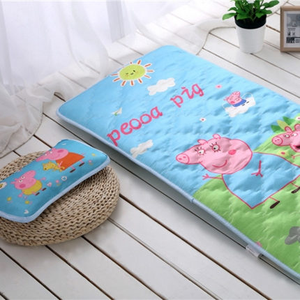 (总)贝贝月家纺 枕头+两用垫床垫