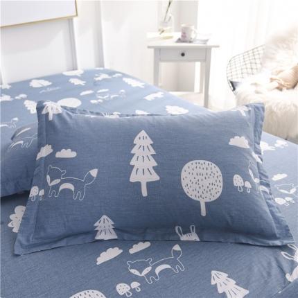 棉立方家纺 新款全棉单枕套 拉菲庄园