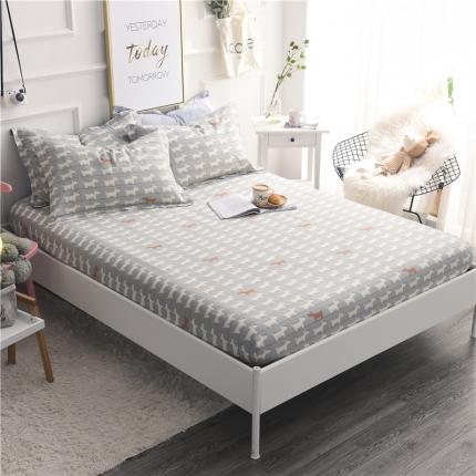 棉立方家纺 新款全棉单床笠弗朗士