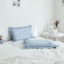 具小象的枕头店 新款单枕套 蓝调布鲁斯