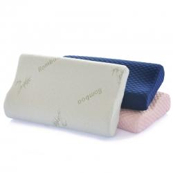 (总)古德家居慢回弹枕芯记忆棉枕头护颈枕颈椎保健枕头针织款
