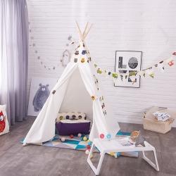 印第安儿童帐篷室内游戏屋宝宝玩具屋小孩子娃娃读书角女孩公主房