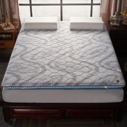 (总)帛奴家纺 记忆海绵夹棉双面用床垫