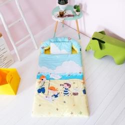 益家小太阳 睡袋 儿童睡袋 幼儿园儿童套件 沙滩水手