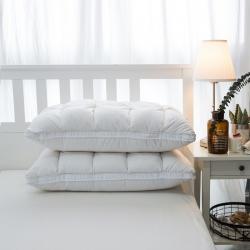 她喜爱枕芯 柔赛丝羽丝绒枕 白色