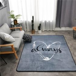 会生活 北欧风地毯爬行垫客厅地垫瑜珈垫卧室床边毯游戏垫野餐垫