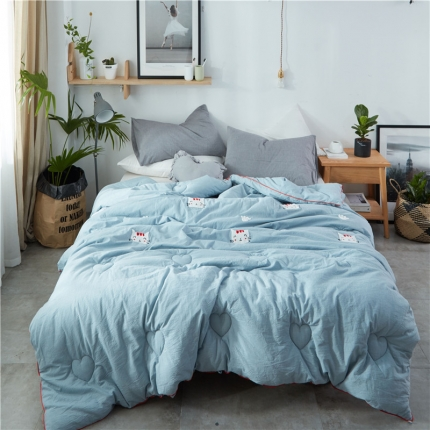 (总)寐眠家纺 水洗棉冬被猫咪款