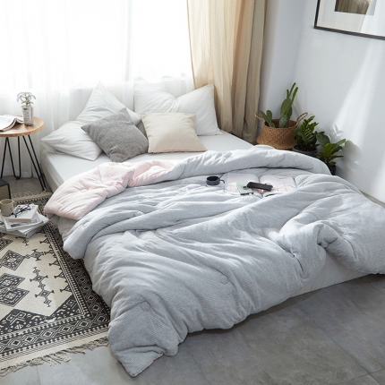 (总)寐眠家纺 简约针织冬被