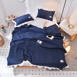 (总)奥裕2018日式水洗棉夏被三件套