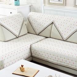 (总)宝阁家居 棉线沙发垫