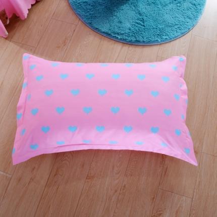 浩情国际  新款活性斜纹磨毛 单品枕套