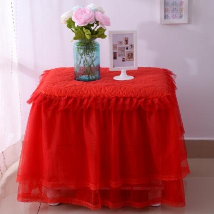 (总)浩情国际 韩版蕾丝床头柜子罩系列一只