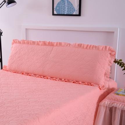 (总)浩情国际 韩版蕾丝公主风系列双人枕套一只