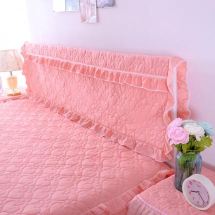 浩情国际 韩版蕾丝床头罩-开心果系列玉色