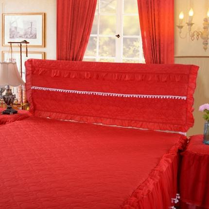 浩情国际 甜心款系列单品床头罩 红色