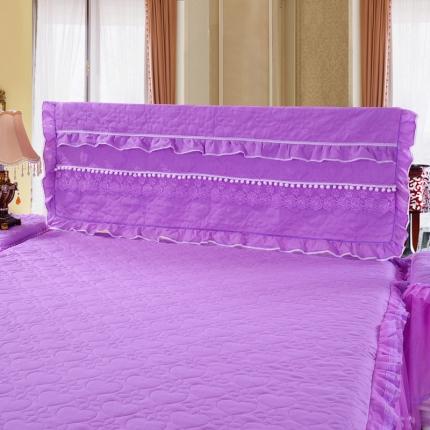浩情国际 甜心款系列单品床头罩 紫色