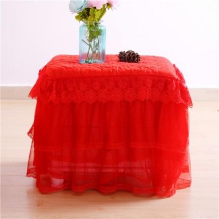(总)浩情国际 8月4号升级版玫瑰款床头柜罩系列一只
