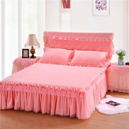 浩情国际 8月4号升级版玫瑰款床裙系列 玉