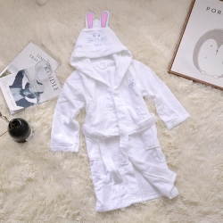 古德洛琦 新款浴袍 儿童衣长80cm胸围90cm袖长40cm
