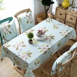 (总)布兰鸟家纺 双面防水桌布餐桌布台布