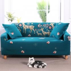 总)布兰鸟专版卡通万能沙发套沙发罩沙发巾沙发垫通用型幸福一家